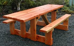 Table Designs 24 Picnic Table Designs Plans And Ideas Inspirationseek Com