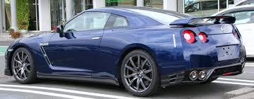 Nissan Gtr Blue - file 2010 nissan gt r rear jpg wikimedia commons