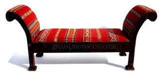 Moroccan Chair Kilim Furniture Kilim Moroccan Bench