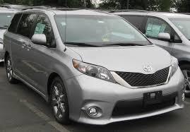 Toyota Sienna 2015 Specs 2015 Toyota Sienna 3 Generation Se Minivan 5d Pics Specs And News