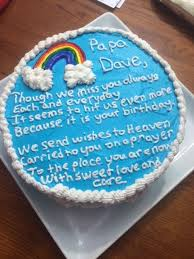how to your birthday cake working wonders birthday cake for someone in heaven