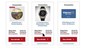 Sweepstakes by Verizon Smart Rewards Sweepstakes Youtube