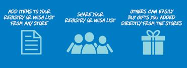 best wedding registry stores giftyou wish list wish list baby registry