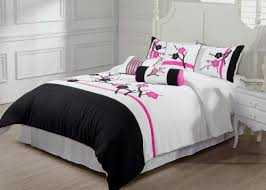 Asian Bedding Set Cheap Asian Bedding Sets Chezmoi Collection 7 Pieces Pink White
