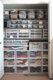 storage u0026 organization unique closet organizer idea with plastic