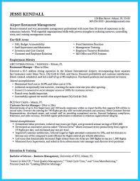 Customer Service Representative Job Description Resume by Restaurant Manager Resume Job Description Free Resume Example