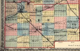 Illinois Map With Counties by Lee County Illinois Maps And Gazetteers