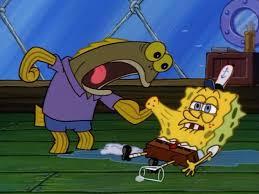 Chocolate Spongebob Meme - what did you do to my drink spongebob