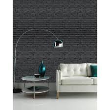 arthouse vip brick wall pattern stone effect motif wallpaper 623007