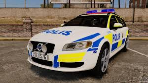 volvo sweden the perfect sensorial improvement of volvo v70 for sweden police