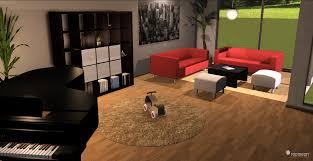wohnzimmer planen 3d roomeon schwedische möbel im 3d raumplaner