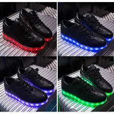 light up shoes for adults men low cut black led light up shoes for men fit for activities