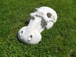 hippopotamus outdoor sculpture 22 garden