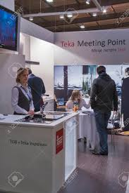 photo booth equipment visitors visit teka kitchen and bathroom equipment german company