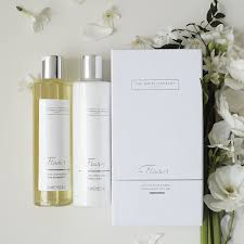 flowers bath u0026 body gift set shower gel the white company uk
