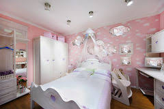 Stylish Pink Bedrooms - stylish pink bedroom for boy stock images image 28023914
