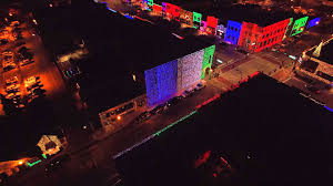 Rochester Michigan Christmas Lights by Christmas Lights Downtown Rochester Michigan 2015 Youtube