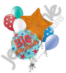welcome home balloon bouquet 7 pc big balloon bouquet welcome home baby shower boy