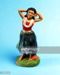 plastic hula dancer dashboard ornament stock photo getty images