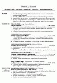 Best Example Of Resume by Example Of Resume 6 Resume Cv
