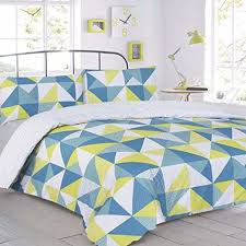 Geometric Duvet Cover Geometric Duvet Cover Amazon Co Uk