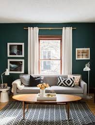 green wall decor mesmerizing living room wall ideas mirrors molding dividing dark