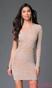 one shoulder metallic dresses metallic gold dresses promgirl