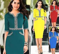 best 2015 new summer dress office dress cheap party tunic