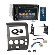 nissan armada dvd player planet audio car dvd bluetooth stereo dash kit harness for nissan