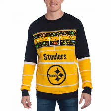 sweaters that light up pittsburgh steelers s sweaters steelers pro shop