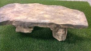 decorative outdoor garden faux rock bencheswood magazine bench