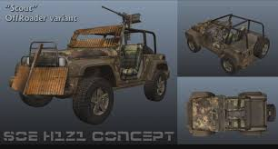 future military jeep scout