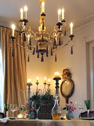 Candle Lit Chandelier Candle Light Fixtures Hgtv
