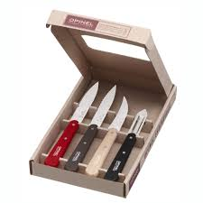 opinel loft kitchen essentials 4pcs u2013 luft kitchen knife loft