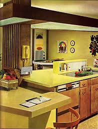 1960s Kitchen by Interior Design For 1960s Home