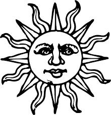 sun tribal tattoo drawn sunlight tribal sun pencil and in color drawn sunlight