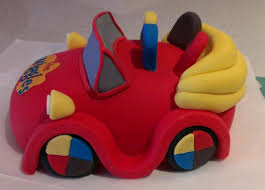 car cake toppers wiggles big car cake topper cakecentral