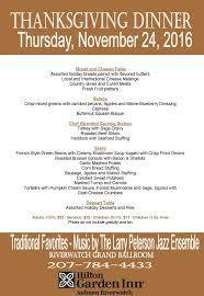 Thanksgiving Dinner Menu Template Thanksgiving Thanksgiving Menu The Homestead Restaurant