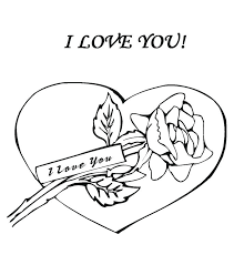 awesome exciting i love you mom coloring pages online rose and