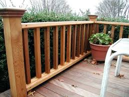 stair railings deck porch the home depot vinyl railing kits