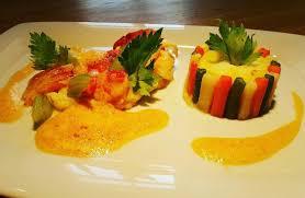 chartreuse cuisine 1 2 ausgelöster hummer krustentierschaum zweierlei sellerie