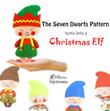 sewing patterns christmas elf dolls and daydreams doll and softie pdf sewing patterns christmas