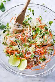 noodle salad recipes fresh and easy vietnamese noodle salad foodiecrush com