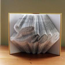 paper anniversary gifts folded book anniversary gifts boyfriend gift for