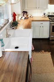 best ideas about inexpensive kitchen countertops pinterest how create faux reclaimed wood countertops