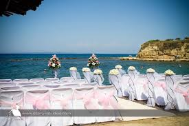 martini beach weddings at the alexandra beach terazza martini in greece
