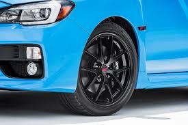 used 2016 subaru wrx sti wheels for sale fs ft for sale or trade 2016 hyperblue sti bbs wheels black
