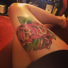 flowers on thigh top thigh tattoos designs project 4 gallery