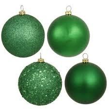 green ornaments wayfair