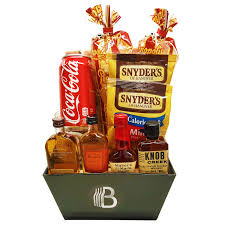 liquor gift baskets bourbon gift basket the brobasket the best gifts for men